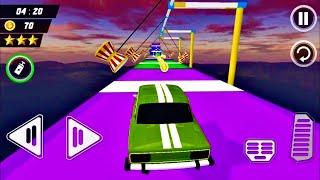 Stunt car mega ramp - Impossible Car Stunt Driving Simulator 3D #1 - GamePlay screenshot 3