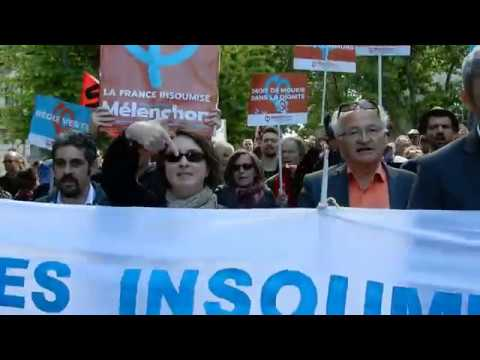 manif 1er mai 2017 montpellier youtube. Black Bedroom Furniture Sets. Home Design Ideas