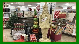 Christmas Decor Shopping At Home Goods!