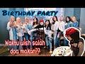 BIRTHDAY PARTY - VLOG #2 / DI KASIH KUE TAPI NGAK BOLEH NIUP LILIN???