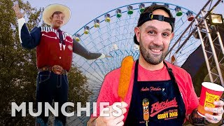 Making 600,000 Corn Dogs at the Texas State Fair - A Frank Experience