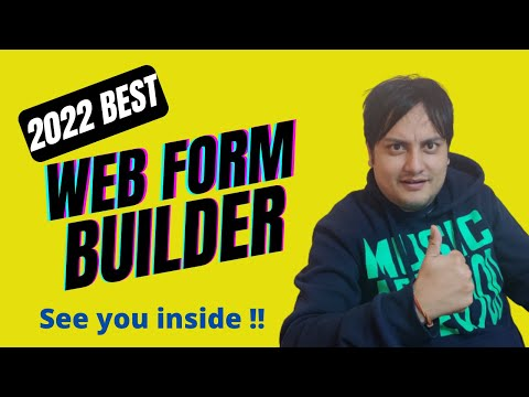 Best Web Form Builder 2020|Create Web Forms,Order Forms Online