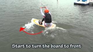 Cable wake park Lesson1 water start progression