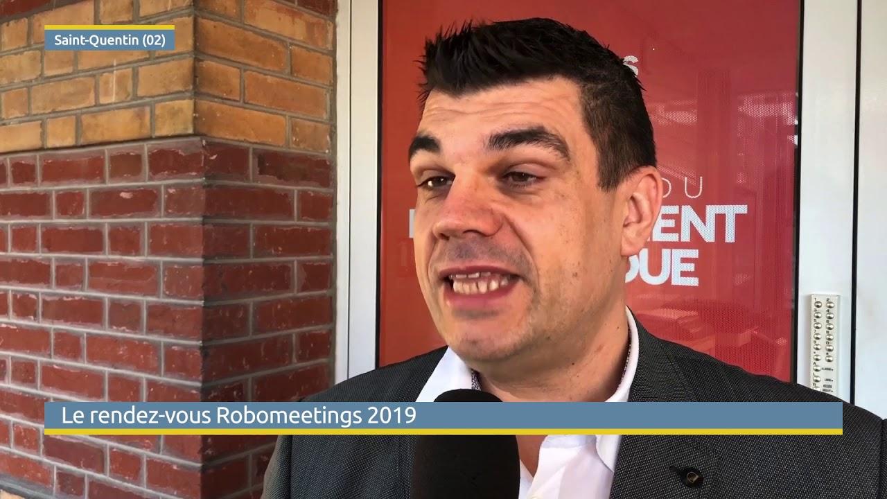 Vidéo rendez-vous Robomeetings à Saint-Quentin