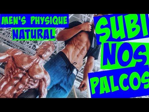 Diário de um Men's #17 - SUBI NOS PALCOS / MEN'S PHYSIQUE NATURAL