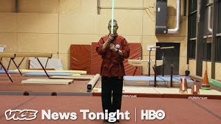 Lightsaber Fencing Is Now A Thing In France (HBO)