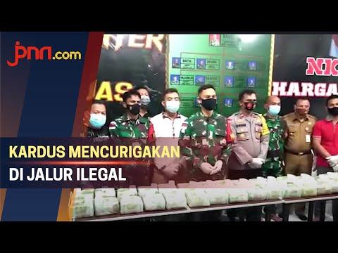 TNI Temukan 2 Kardus Mencurigakan di Jalur Ilegal, Isinya...