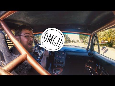 LS MIATA FIRST DRIVE! IT RIPS!! 1-3 Gear Pulls!