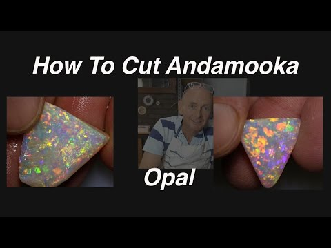 How To Cut Andamooka Opal from Australia