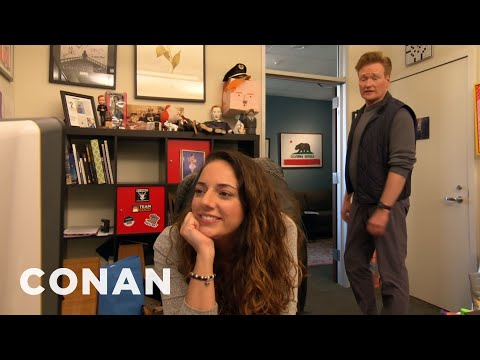 Conans Assistant Sona Has Her Own Assistant - CONAN on TBS