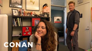 Conan's Assistant Sona Has Her Own Assistant   CONAN on TBS