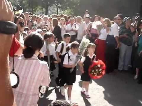 September 1 At Yerevan Pushkin School