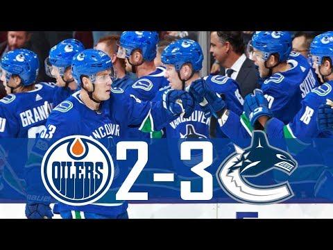 Canucks vs Oilers | Highlights | Oct. 7, 2017 [HD]