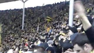 Hertha BSC Berlin 0:1 Borussia Dortmund 18.02.12 Stimmung