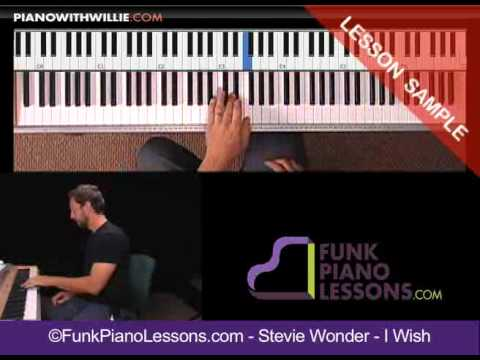how to play stevie wonder on piano