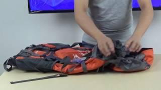 v2Movie : JACK WOLFSKIN Extreme 70 backpack review