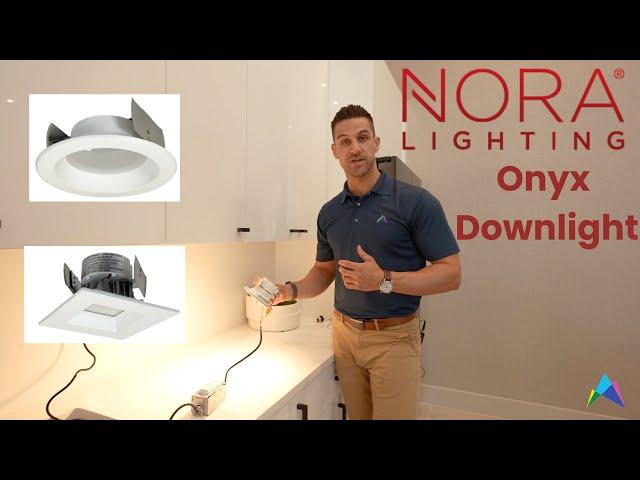 Nora Onyx Downlight - Budget Friendly Downlight CCT Switchable - Nora & Slater Lighting