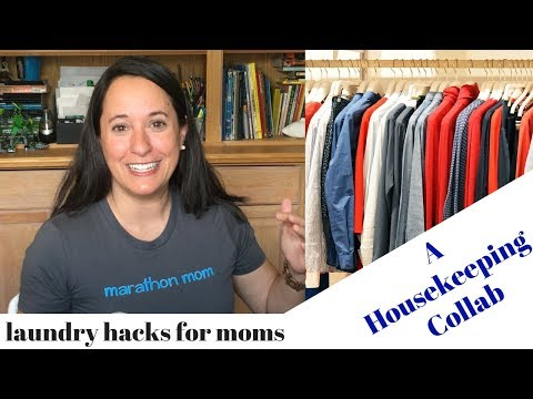 Laundry hacks for Catholic moms