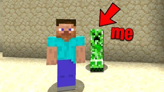 Trolling a new minecraft noob with a disguise plugin