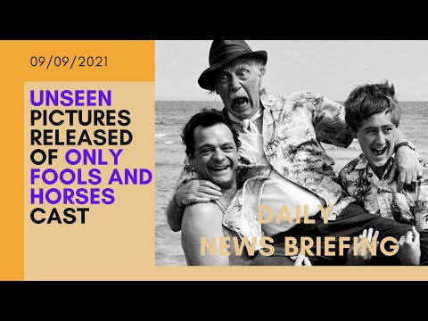 David Jason as Del Boy in unseen Only Fools and Horses set photos - UK NEWS BRIEFING