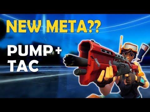 NEW META PUMP TAC? | MINDSET TO IMPROVE | INTENSE BUILDING FIGHT - (Fortnite Battle Royale)