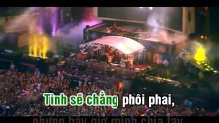 (Karaoke-HD) LK Đắng Môi-Phạm Trưởng Remix Full Beat.XVID 720p