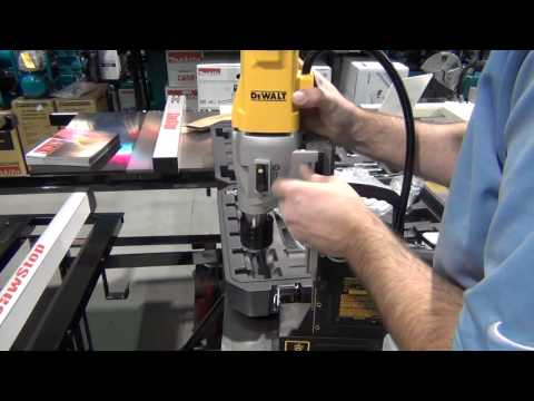 how to change the chuck on a milwaukee mag drill