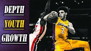 7 Lakers Score in Double Digits || Los Angeles Lakers vs Detroit Pistons ||