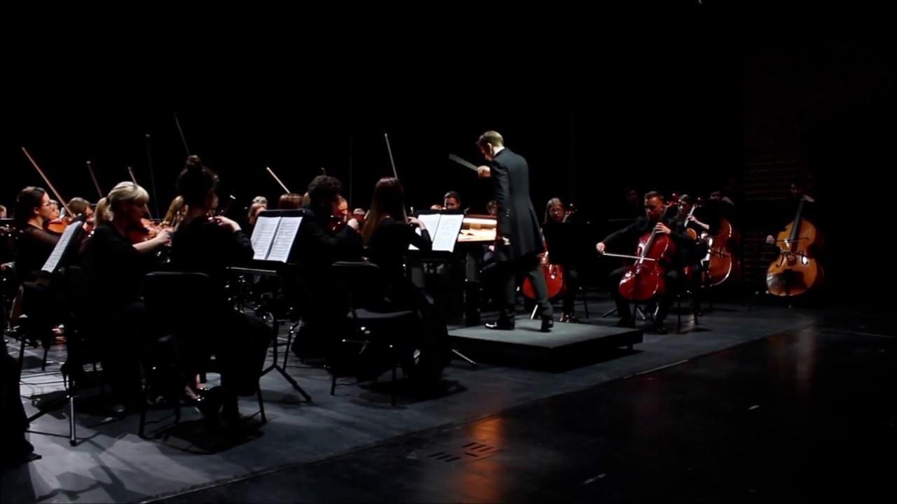 A. Głazunow - V Symfonia B-dur op. 55 - cz. II i III (fragmenty)