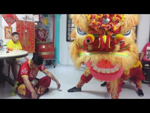 Chinese lion dance! Awesome lion dance! Must watch!