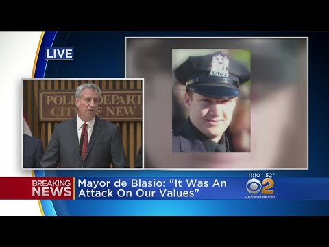 News Conference On Lower Manhattan Terror Attack