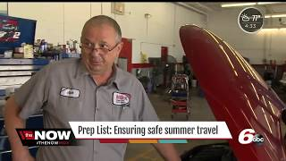 Milex Complete Auto Care of Greenville, IN - Preparing Cars for Summer Roadtrip WRTV