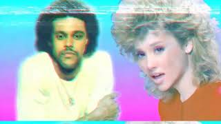 Ariana Grande Ft . The Weeknd- Love Me Harder 80's Remix