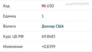 Смотреть видео Курс валют Рубля на 12сентября. онлайн