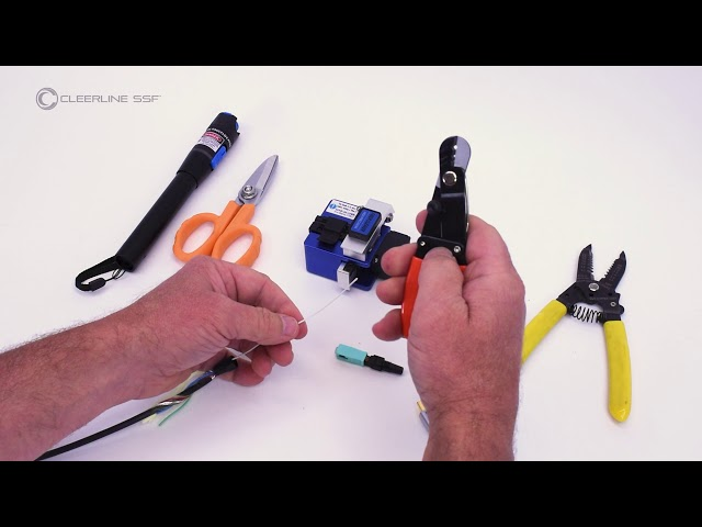 Cleerline SSF™ 8K UHD Active Optical Cable: How to Re-terminate
