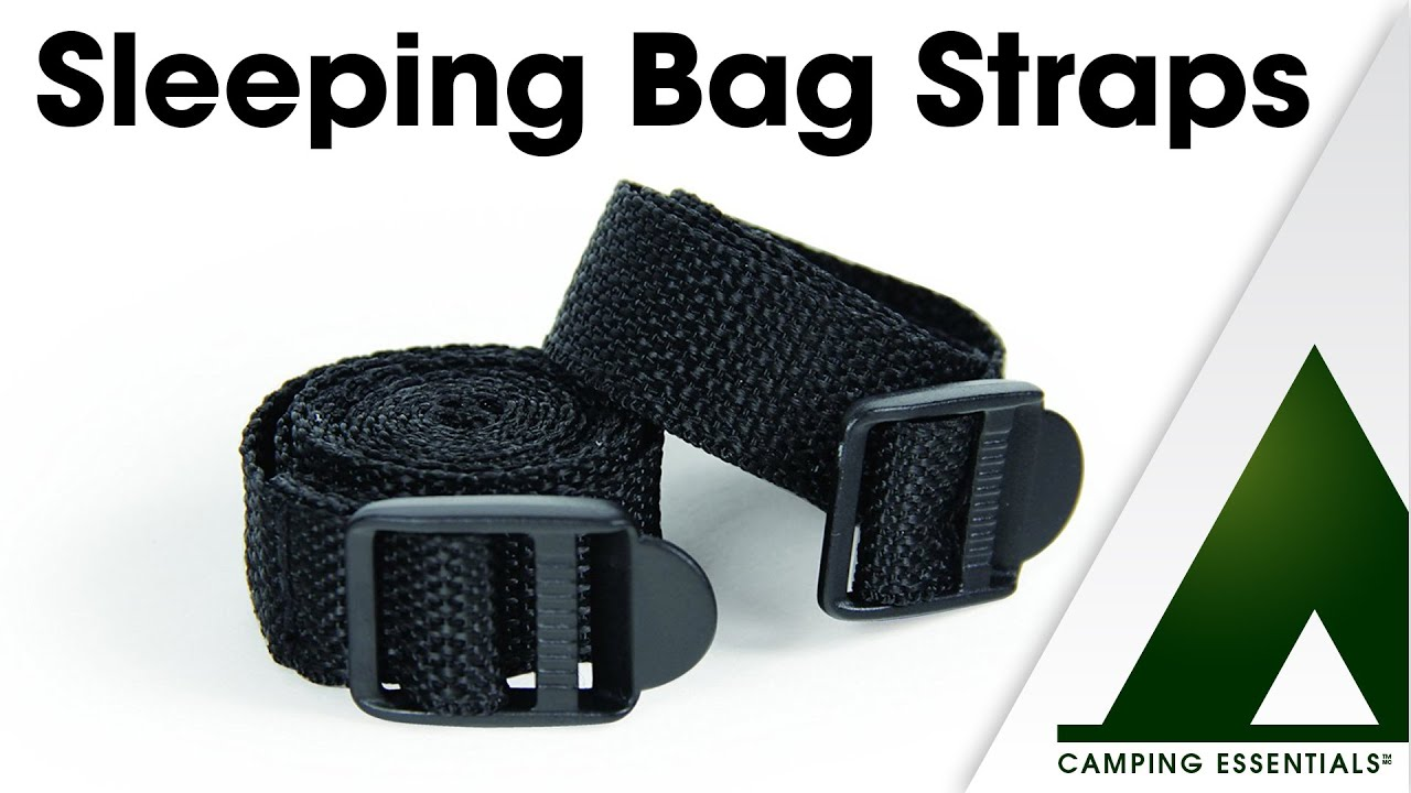 Camping Essentials Sleeping Bag Straps