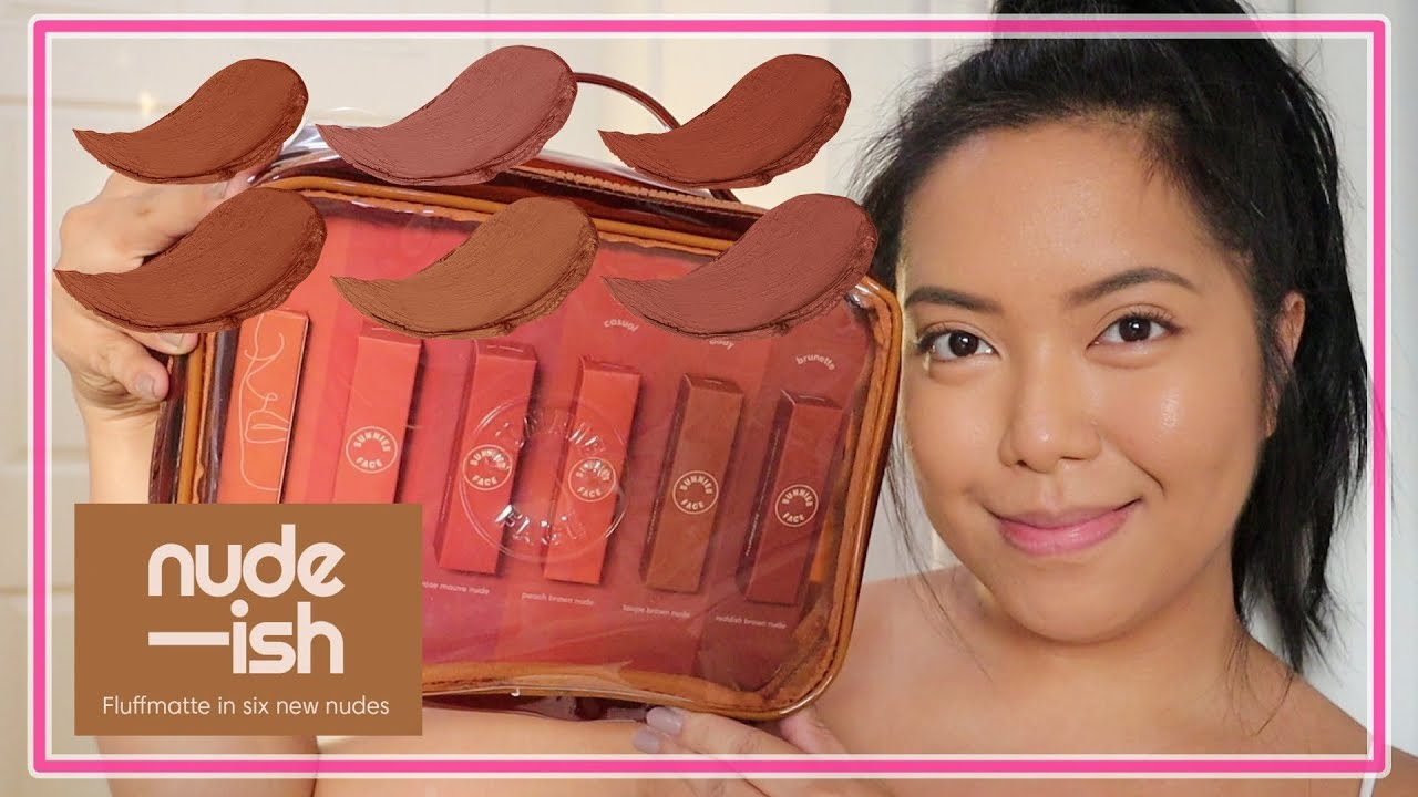 Sunnies Face Fluffmatte Nude-ish REVIEW! | Ysabel