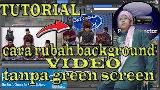 cara merubah bsckground video tanpa green screen