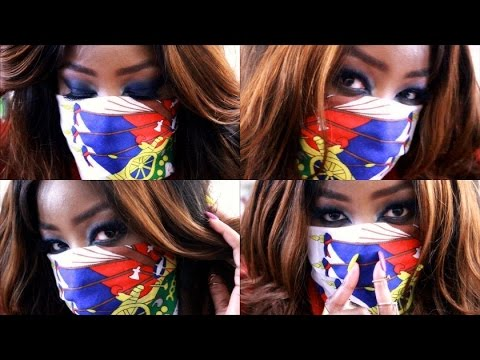 HAITIAN FLAG DAY MAKEUP TUTORIAL