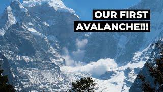 AVALANCHE!!! | Everest Base Camp Trek Day 4 | Namche Bazaar To Tengboche