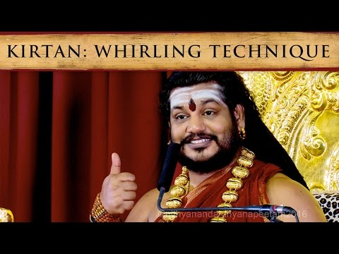 Kirtan, Gummi song dance: Siddha Whirling Technique
