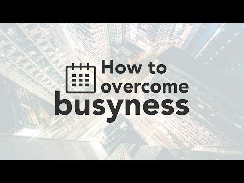 How to Overcome Busyness - Bruce Downes The Catholic Guy
