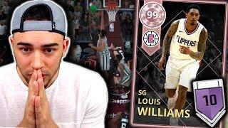 PINK DIAMOND LOUIS WILLIAMS GAMEPLAY! 6TH MAN OF THE YEAR! NBA 2K18 MyTeam