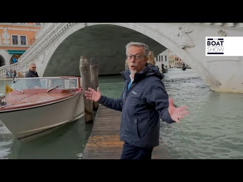 [ENG] VOLVO PENTA D4 ENGINE - Review on a Water Taxi in Venice - The Boat Show