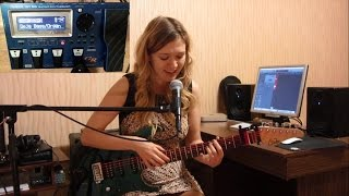 Stupid Cupid (cover by Polina Sedova) Roland GR-55