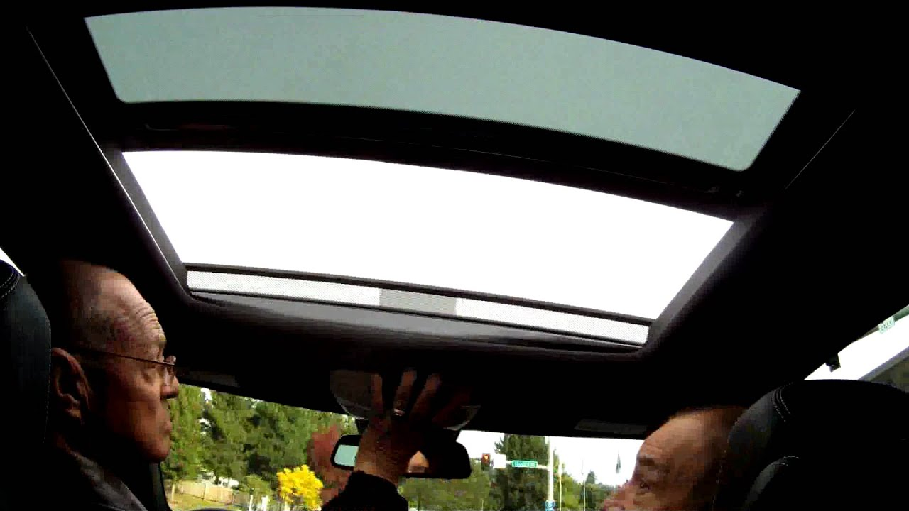 2012 Mercedes-benz C250 Sunroof