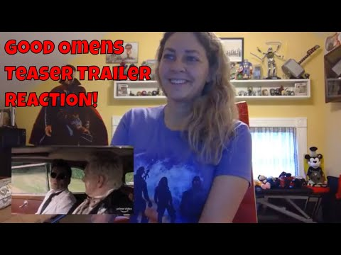 Good Omens Teaser Trailer REACTION! (Amazon Prime)