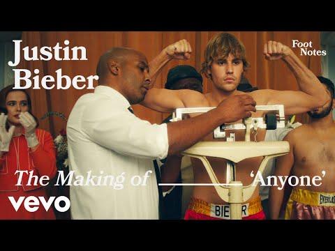 Justin Bieber - The Making of 'Anyone' | Vevo Footnotes