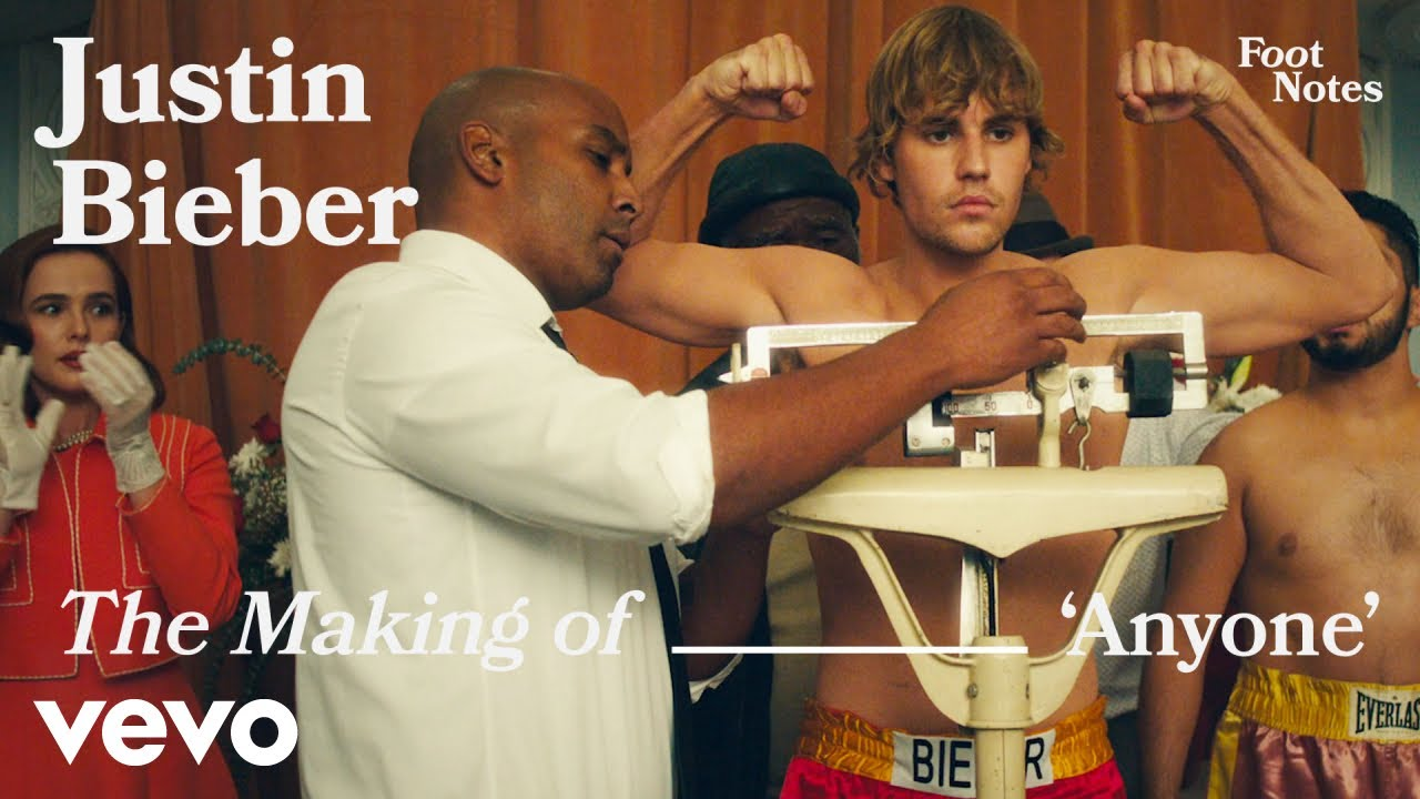 Justin Bieber – The Making of 'Anyone' | Vevo Footnotes