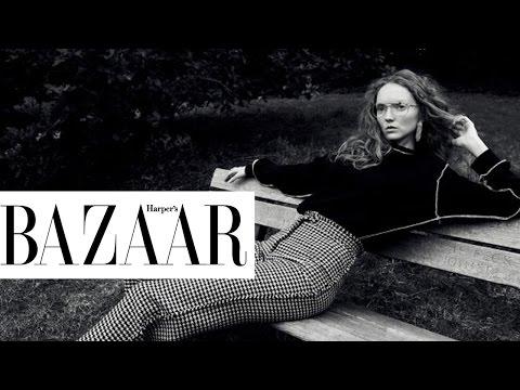 BAZAAR Cover Star | 與Lily Cole相約在倫敦